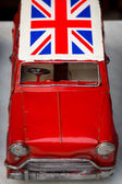 British car in Shanghai — Stock Photo