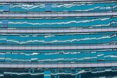 Skleněná budova mrakodrap — Stock fotografie