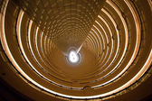 Interior view of the Jin Mao Tower — Stock Photo