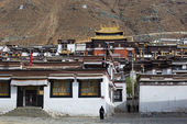 Palkhor Monastery in Tibet — Stock Photo
