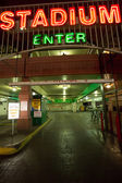 Entrance of the Stadium car park in Reno — Stock Photo