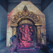 Stock Photo: Ganesh in Bhaktapur