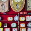 Wallclocks in a shop — Stok fotoğraf