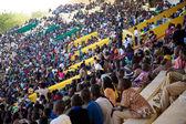 Stadium Crowd with Children — Stock Photo