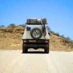 Car in Namibia — Stock Photo