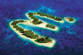 Het eiland van geluk — Stockfoto