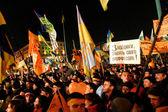 The Orange Revolution — Zdjęcie stockowe