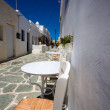 Stock Photo: Typical traditional greek white and blue houses