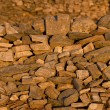 Close-up of a pile of Antique stones — Stock Photo