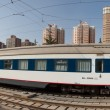 Panoramic Train Lhasa - Shanghai — Stock Photo