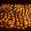 Church candles in Kathmandu — Stock Photo