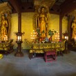 Interior of a temple in Hangzhou — Foto Stock