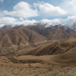 Panoramic view of the Friendship Road in Tibet — Stock Photo #29475727