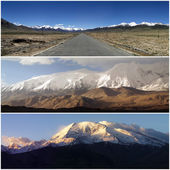 Karakoram mountains in china — Stock Photo