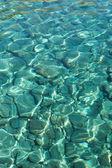 The aegean sea and rocks — Stock Photo