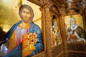 Diverse icone religieus. — Foto Stock