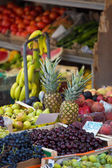 Picture of a food-stand with exotic fruits — ストック写真