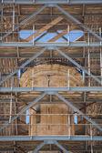 Archeological column in Rethymno — Stock Photo