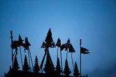 крыша храма, бхактапур — Стоковое фото