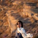 Portrait of a beautiful Chinese woman — Stock Photo