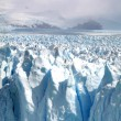 Panoramic view of the Perito Moreno Glacier in Patagania — Stock Photo