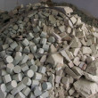 Stock Photo: Close-up of large amount of soap stone pieces all equally cut
