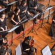 Group of people playing in a classical music concert, china — Stock Photo