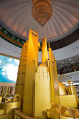 Enormous scale model of the future Shangha — Stock Photo