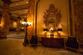 Detail of the Interior at the Fairmont Hotel — Stock Photo