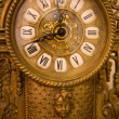 Stock Photo: Old iron clock made in nineteenth century