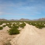 Kaokoland desert road — Stock Photo