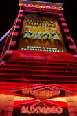 Entrance of the Eldorado Casino in Reno at night — Stock Photo