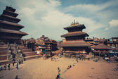 Durban Square in the center of the old part of Bhaktapur — Stock Photo