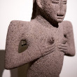 Mayan sculpture found in Costa Rica — Stock Photo