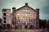 старые промышленные здания в гданьске — Стоковое фото