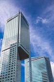 современные здания из стекла и стали в варшаве — Стоковое фото