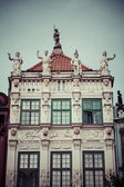 Old houses in Gdansk, Poland — Foto Stock