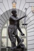 Statue of Poseidonon in Gdansk, Poland — Stock Photo