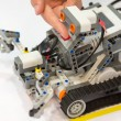 Stock Photo: Machinery Toy with artificial intelligence