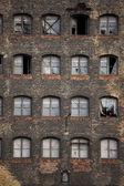 Old industrial building in Gdansk — Stok fotoğraf