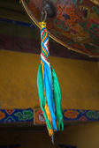 Detail of a tambourine in lhasa — Stock Photo