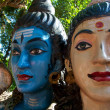 Head of Lord Shiva and his partner — Stock Photo