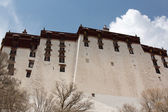 Back of the Potala Palace in Lhasa — Stock Photo