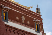 Detail of the Potala Palace in Lhasa — Stock Photo