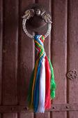 Dragon door-handle — Stock Photo