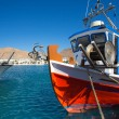Little fishers boats in Folegandros, Greece — Stock Photo #35835377