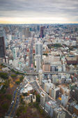 Tokyo skyline during the day — Stock Photo