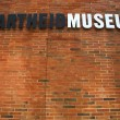 Постер, плакат: Apartheid Museum sign in Johannesburg