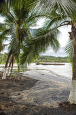 Empty beach in Puerto Viejo, Costa Rica — Stock Photo