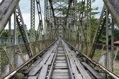 Vieux pont vintage à sixaola — Photo